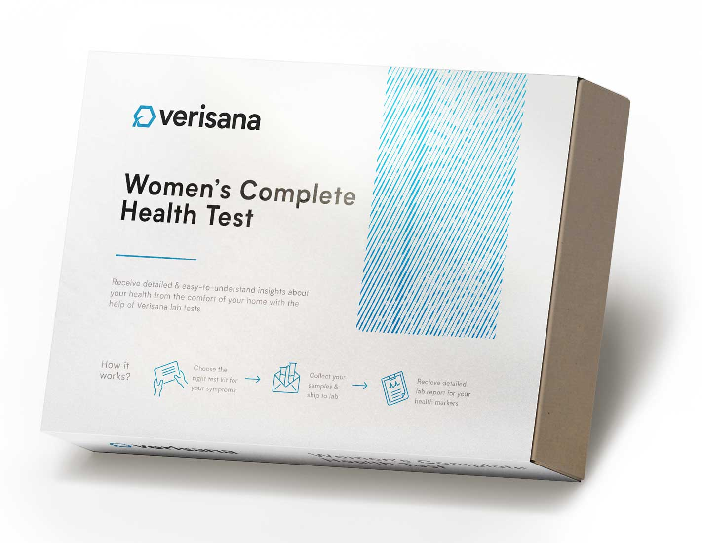 women's complete health test saliva test for 5 hormones and comprehensive stool analysis